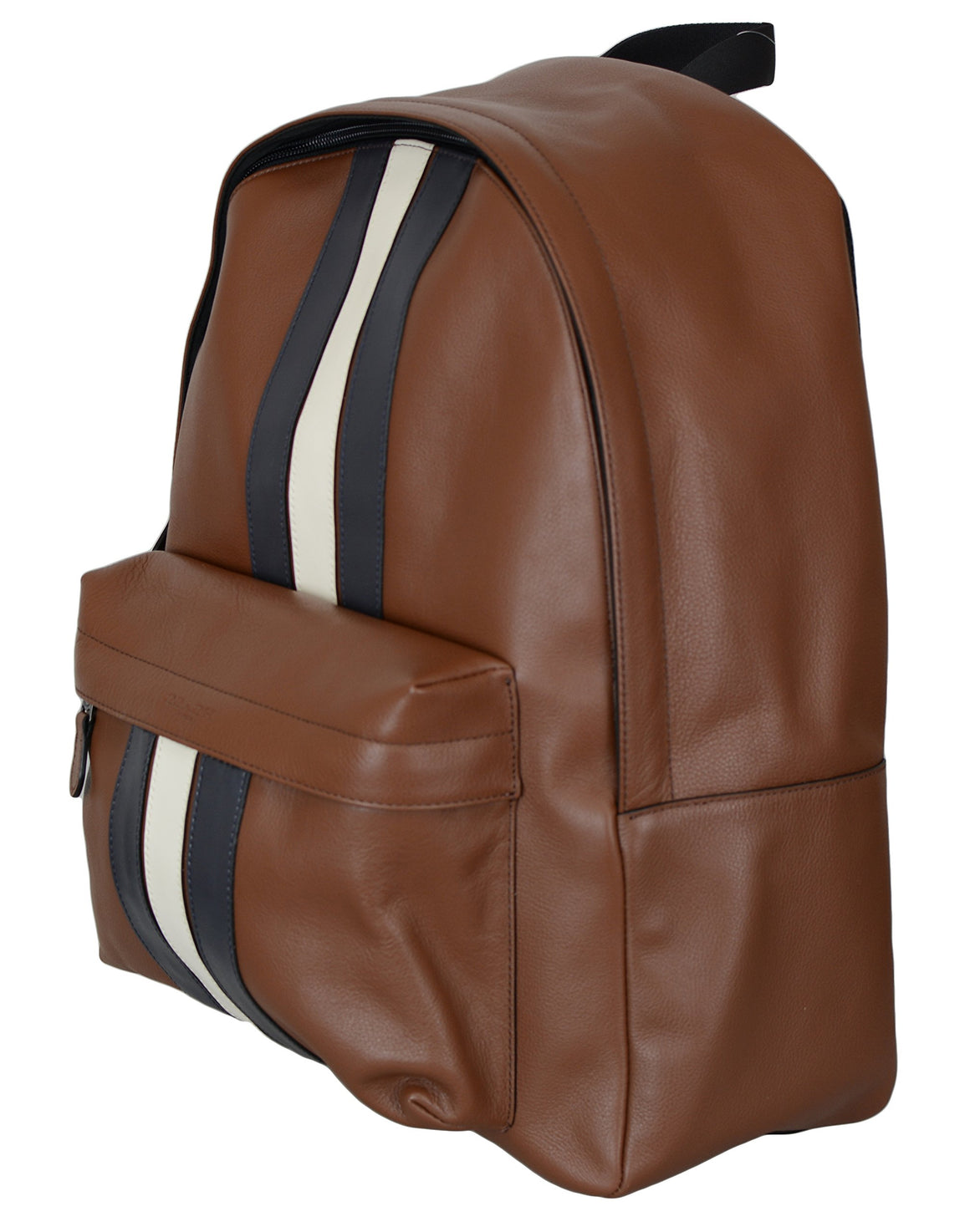 Coach Varsity Backpack Brown Stripe