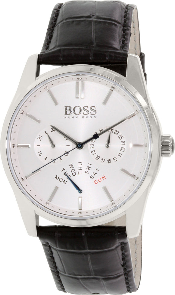 Hugo Boss Heritage Leather 1513123 Mens Watches Hugo Boss