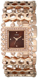 Guess Women'S U0574L3 Rose Gold-Tone Watch With Crystals & Adjustable Links Womens Watches Guess
