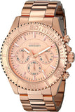 Guess Men'S U0170G4 Sporty & Sophisticated Rose Gold-Tone Chronograph Watch