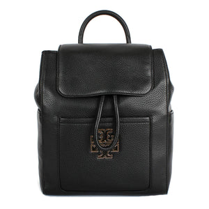 Tory Burch Britten Backpack In Black 8002 Womens Backpacks Tory Burch