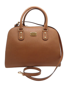 Michael Kors Large Satchel Luggage Saffiano Leather Womens Handbags Michael Kors
