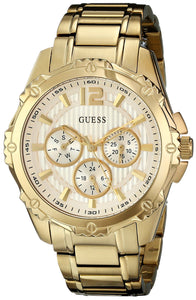 Guess Women'S U0232L2 Active Sport Gold-Tone Mid-Size Watch Womens Watches Guess