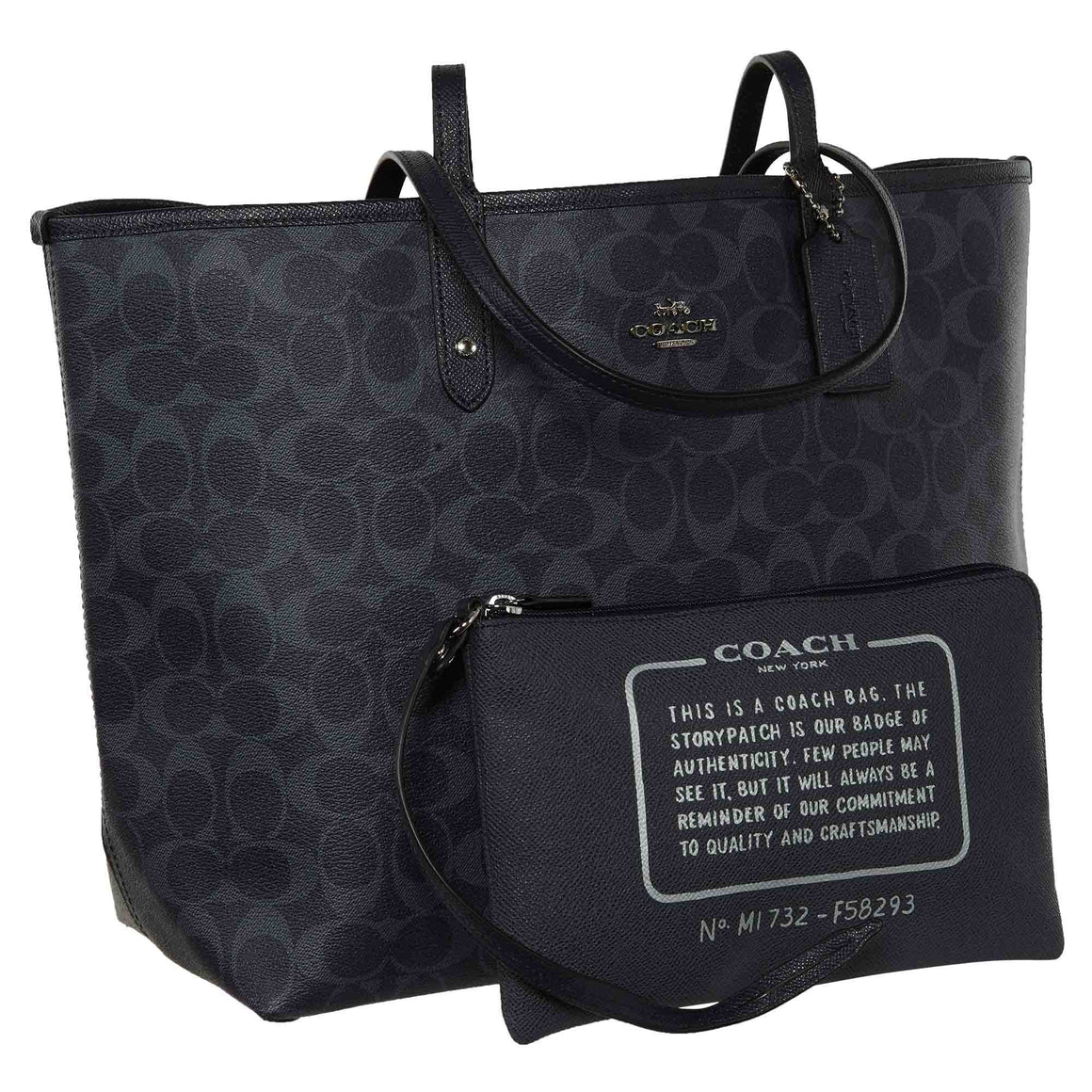 Reversible City Tote (Coach F58293)