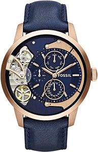 Fossil ME1138 Men's Townsman Automatic Stainless Steel Mechanical Watch