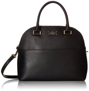 Kate Spade WKRU4192 Grove Street Carli Leather Crossbody Bag Purse Satchel Shoulder Bag Womens Handbags Kate Spade