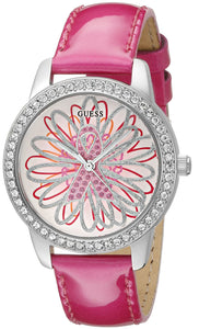Guess Women'S U0032L5 2015 Limited Edition Watch Supporting Breast Cancer Awareness Womens Watches Guess