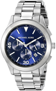 Michael Kors Men'S Gareth Silver-Tone Watch Mk8451 Mens Watches Michael Kors