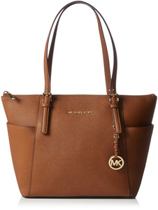Michael Michael Kors Jet Set Top-Zip Tote Luggage Womens Handbags Michael Kors