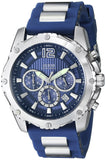 Guess Men'S U0167G3 Blue Bold Move Chronograph Sport Watch Mens Watches Guess