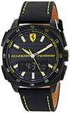 Ferrari Men'S 0830170 Aero Evo Analog-Digital Display Black Watch Mens Watches Ferrari