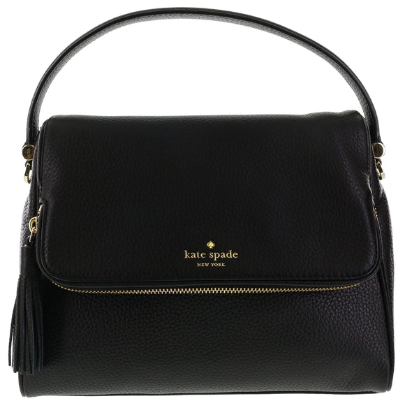 Kate Spade WKRU4076 New York Chester Street Miri Pebbled Leather Shoulder Bag Womens Handbags Kate Spade