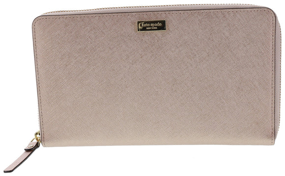 Kate Spade WLRU2304 Newbury Lane Talla Clutch Wallet,Rose Gold Womens Wallets Kate Spade