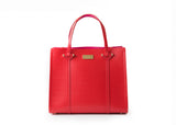 Kate Spade WKRU3036 Wkru3036 Small Elodie Arbour Hill Cherry Red Tote Bag Womens Handbags Kate Spade