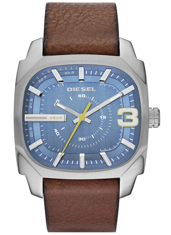 Diesel Men's DZ1654 Shifter Analog Display Analog Quartz Brown Watch