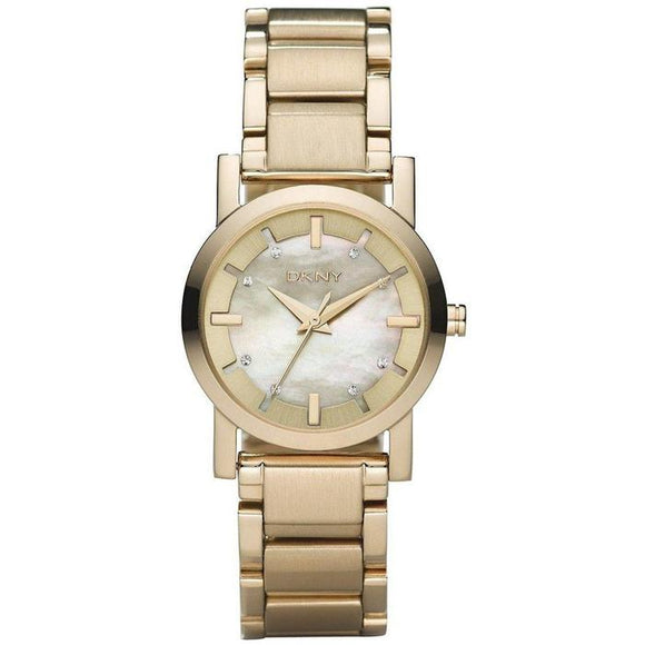 DKNY Women's Gold-Tone Stainless Steel Bracelet NY4520 Womens Watches DKNY