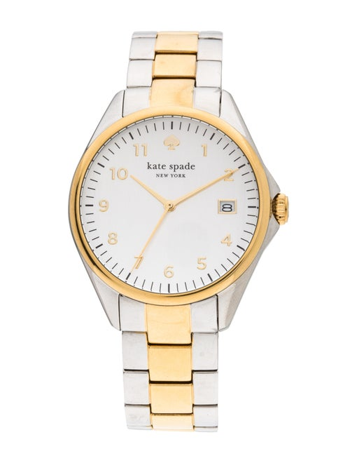 Kate Spade Seaport Grand White Dial Two-tone Ladies Watch 1YRU0093