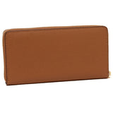 Accordion Zip Wallet In Crossgrain Leather (Coach F54007)