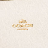 City Zip Tote In Crossgrain Leather (Coach F58846)  Chalk/Gold Womens Handbags Coach