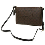 East/West Crossbody With Pop Up Pouch In Signature (Coach F58316) Womens Handbags Coach