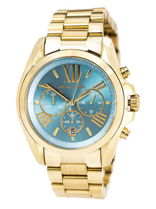 Michael Kors MK5975 Bradshaw Womans Gold Watch Womens Watches Michael Kors