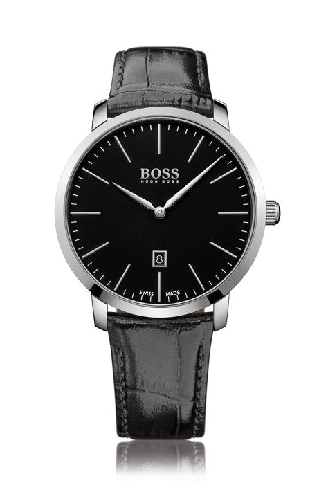 Hugo Boss Mens Analog Dress Quartz Watch 1513258 Mens Watches Hugo Boss