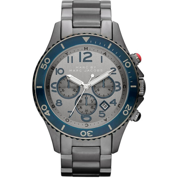 Marc Jacobs Mens Rock Chronograph Watch MBM5028 Mens Watches Marc by Marc Jacobs