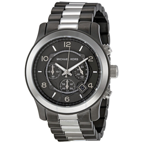 Michael Kors Runway Chronograph Two-tone Mens Watch MK8182