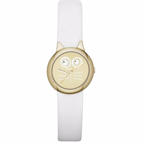 Marc by Marc Jacobs MBM2050 Ladies Gold White Critters Watch Womens Watches Marc by Marc Jacobs