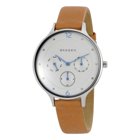 Skagen Anita Leather Multifunction Watch SKW2449