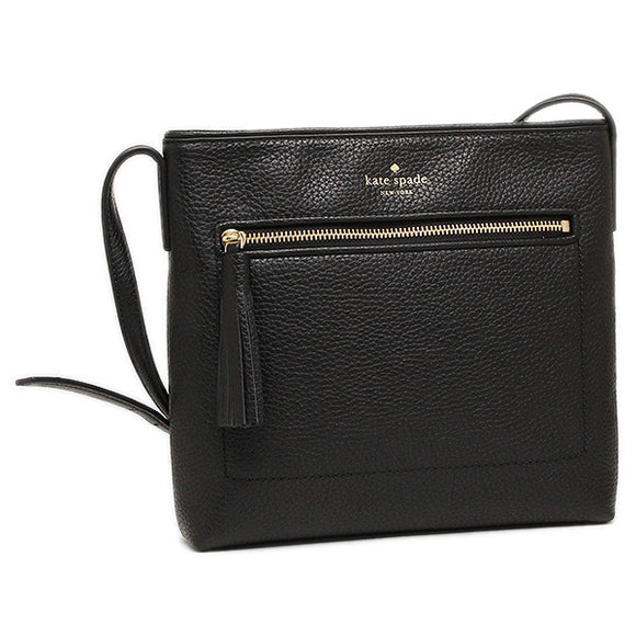 Kate Spade WKRU4073 New York Chester Street Dessi Pebbled Leather Shoulder Crossbody Bag WKRU4073 Womens Handbags Kate Spade