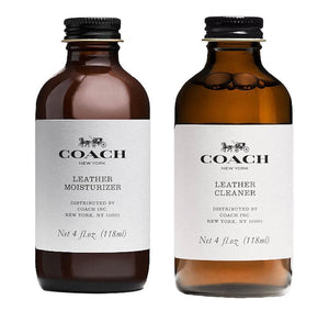 Coach Leather Handbag Moisturizer & Cleaner Set Accessories Coach
