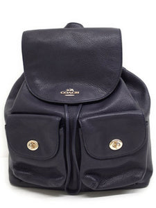 Billie Backpack In Pebble Leather (Coach F37410) Womens Backpacks Coach