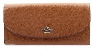 Slim Envelope Wallet In Crossgrain Leather (Coach F54009) Womens Wallets Coach