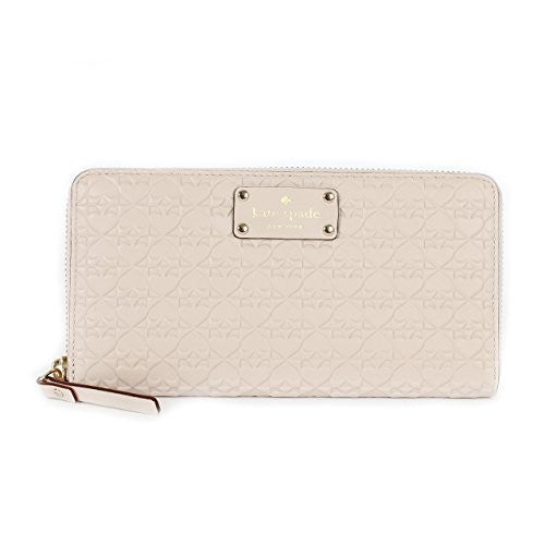 Kate Spade WLRU2517 New York Penn Place Embossed Neda Leather Continental Wallet Womens Wallets Kate Spade