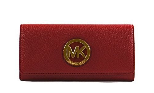 Michael Kors Women'S Fulton Carryall Leather Wallet Womens Wallets Michael Kors