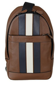Charles Pack With Varsity Stripe (Coach F23215) Mens Backpacks Coach