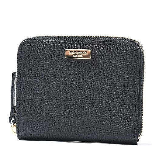 Kate Spade WLRU2909 Darci Laurel Way Leather Zip Around Medium Wallet Womens Handbags Kate Spade
