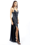 Black Long Slip Dress