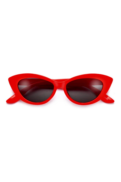 Retro Cat Eye Frame Sunglasses
