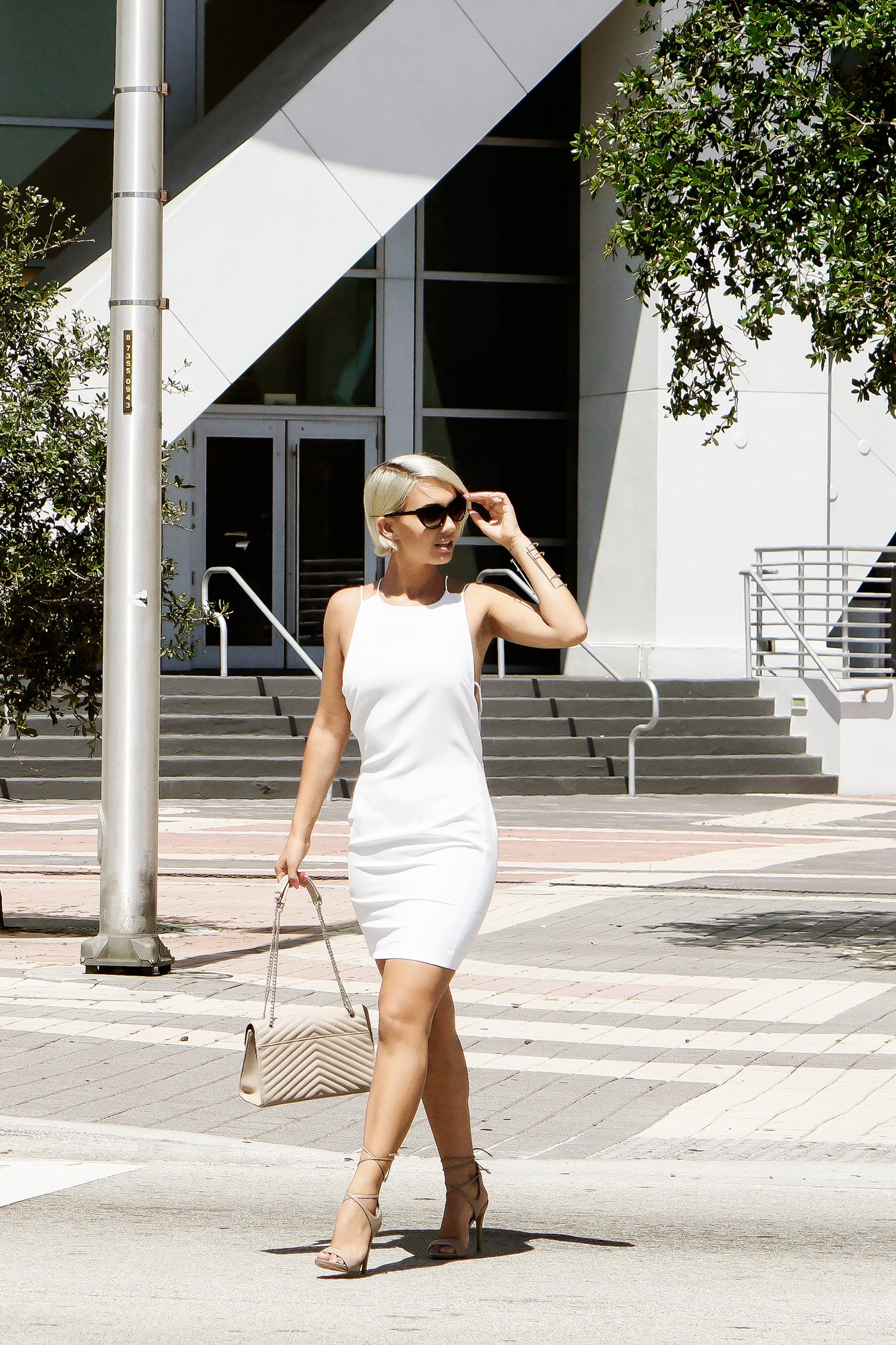 The Little White Shift-Dress