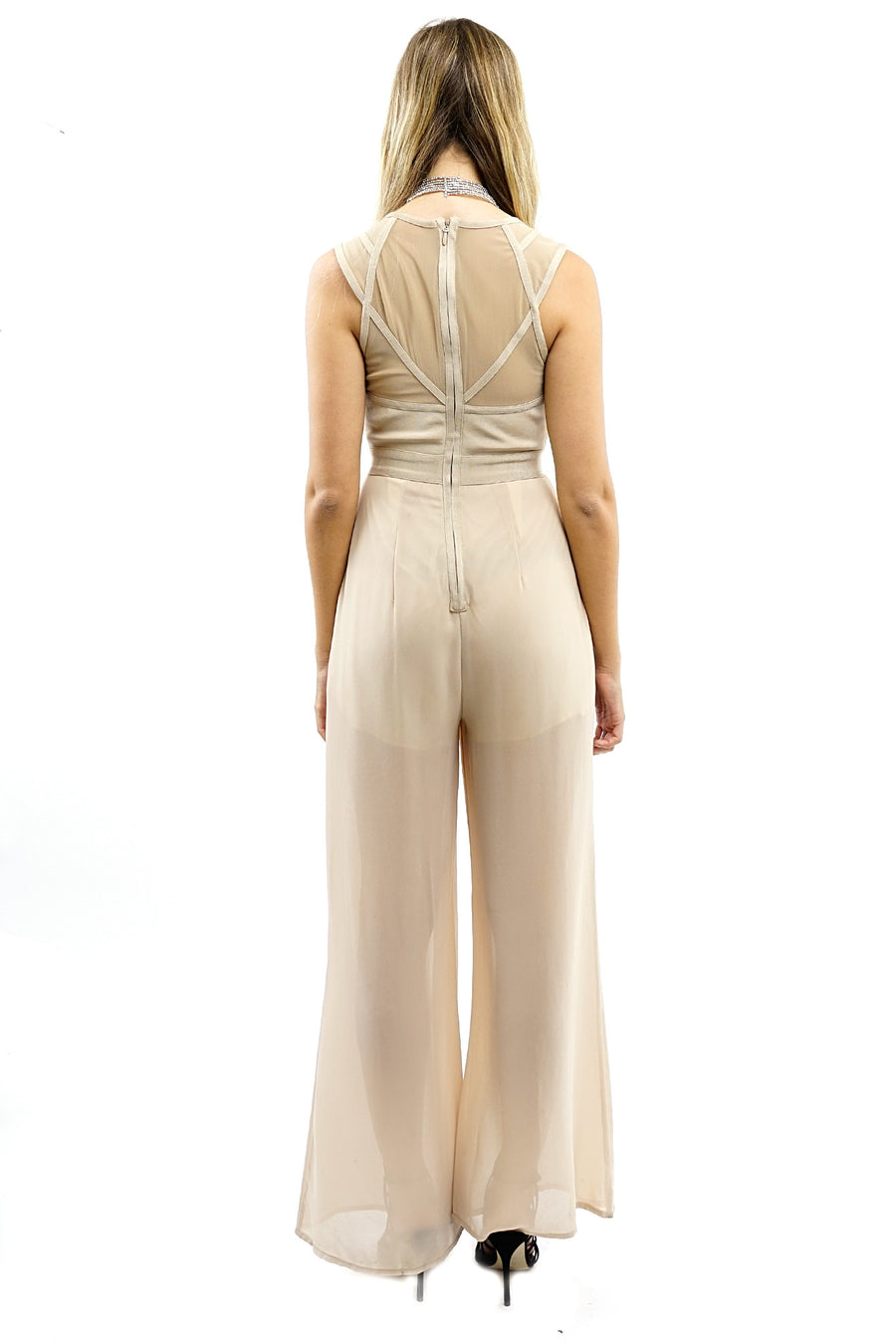 Lilly Nude Pant Jumpsuit