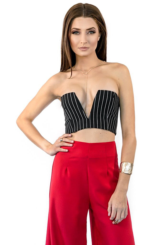 d0fbd87a5f V-Front Bralet Top - Style Link Miami