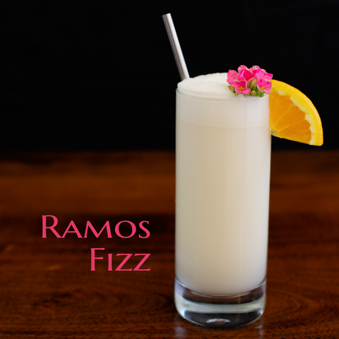 Ramos Fizz Cocktail Recipe