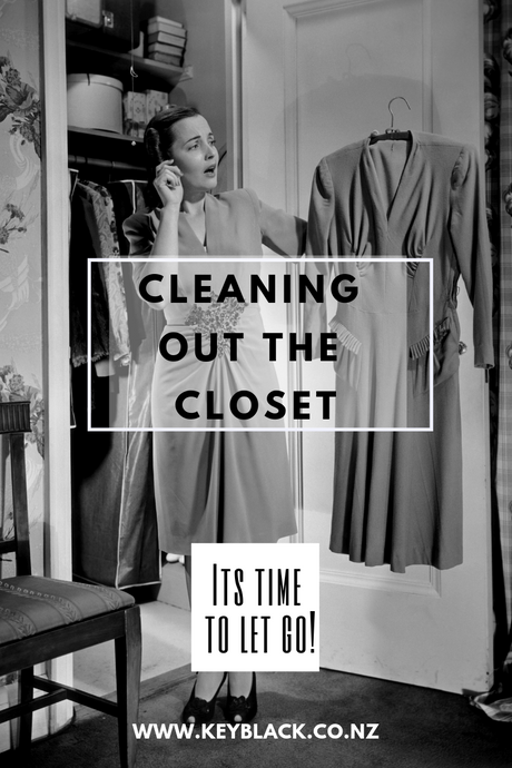 CLEANING OUT THE CLOSET WITH CONFIDENCE!