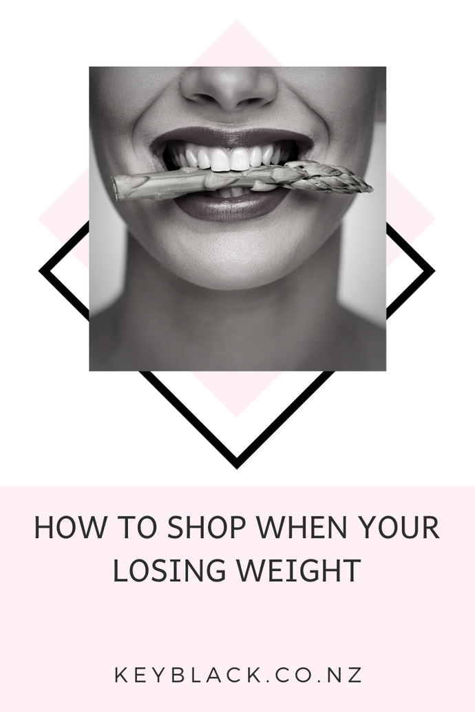 HOW TO SHOP DURING WEIGHT LOSS
