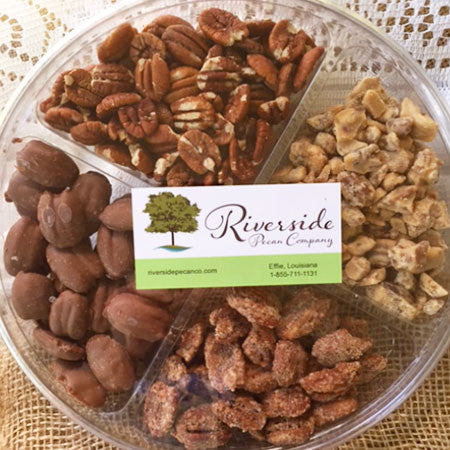 Flavored Pecans Sampler - 16 OZ