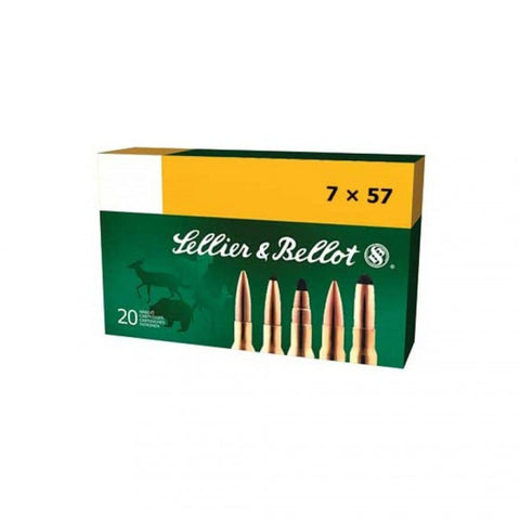 Sellier & Bellot - 7x57mm - 173GR - SPCE - 20 Rds/box - Goodland Guns