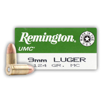 Remington UMC 9mm - 124 GR - 50 - Goodland Guns