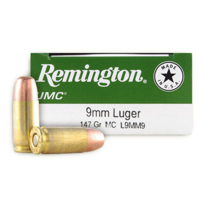 Remington UMC 9mm - 147 GR - 50 - Goodland Guns
